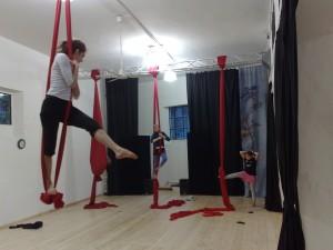 tessuti acrobatica